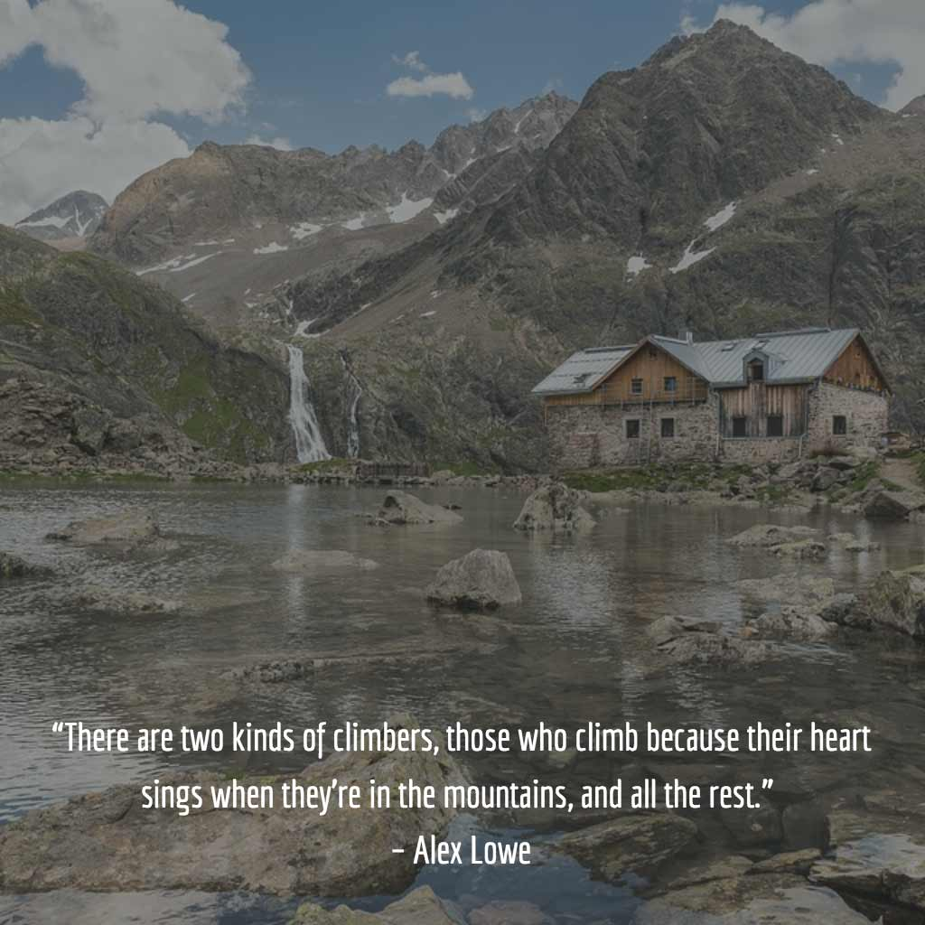 Alex Lowe Quote