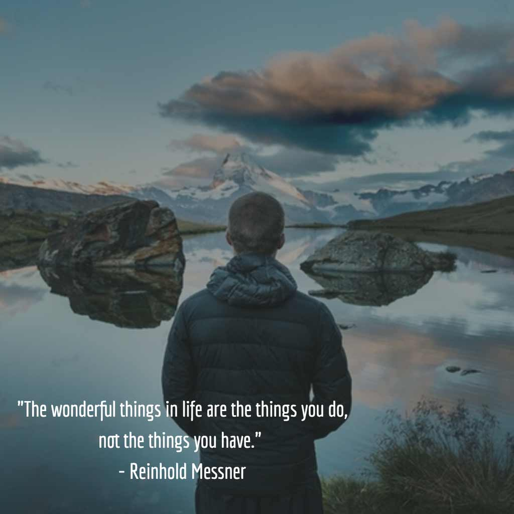 Reinhold Messner Quote