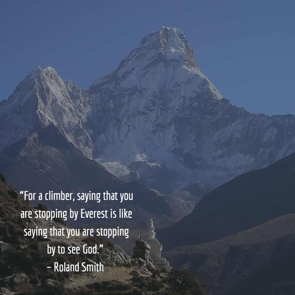 Roland Smith Quote