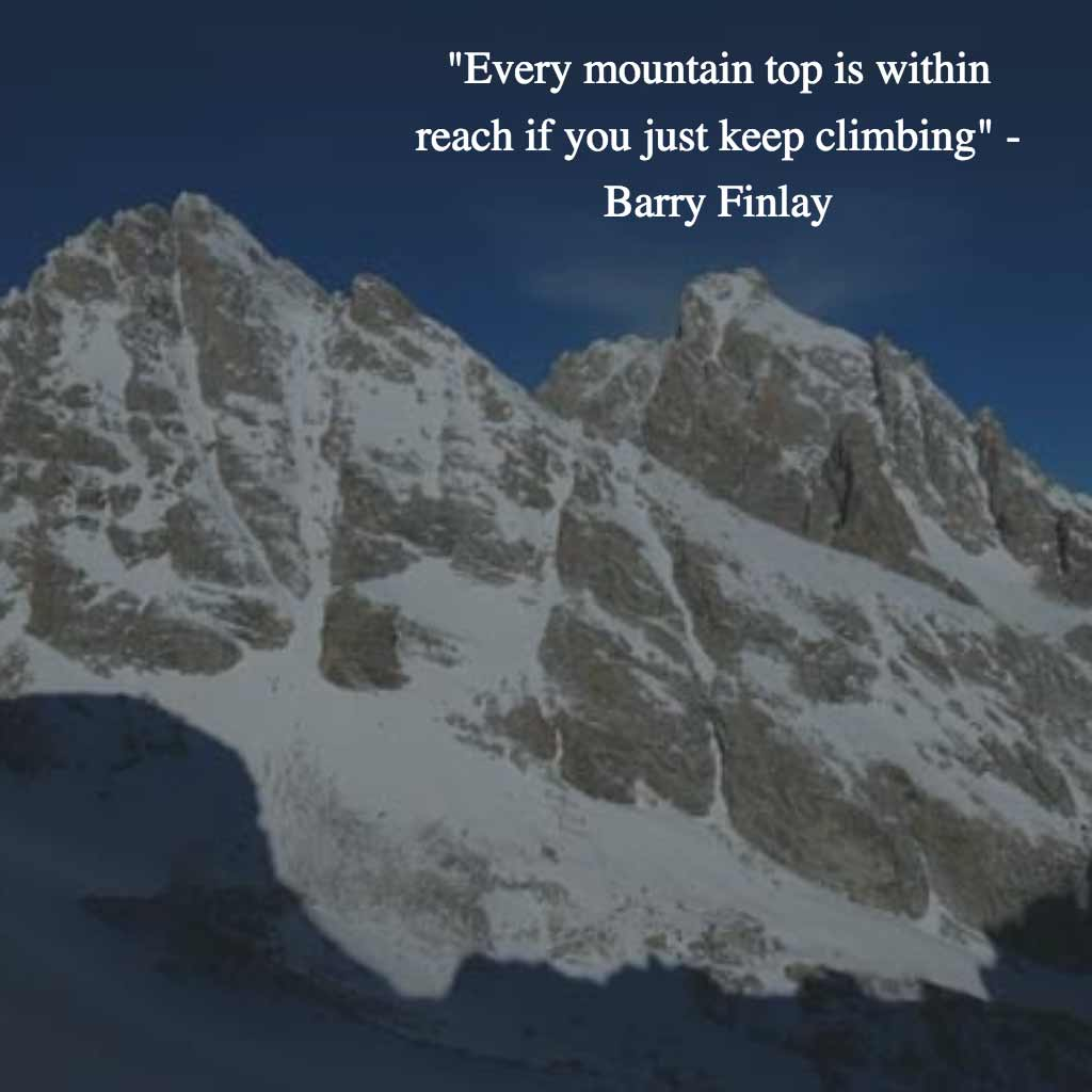 Barry Finlay Quote