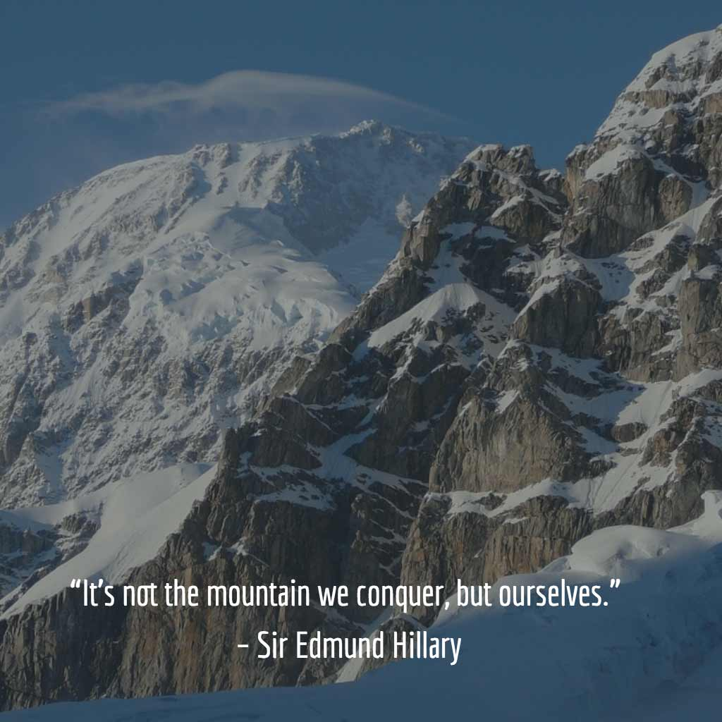 Sir Edmund Hillary Quote