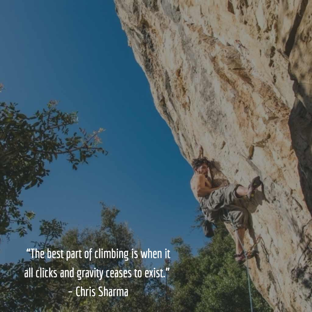 Chris Sharma Quote