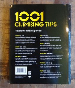 1001 Climbing Tips by Andy Kirkpatrick