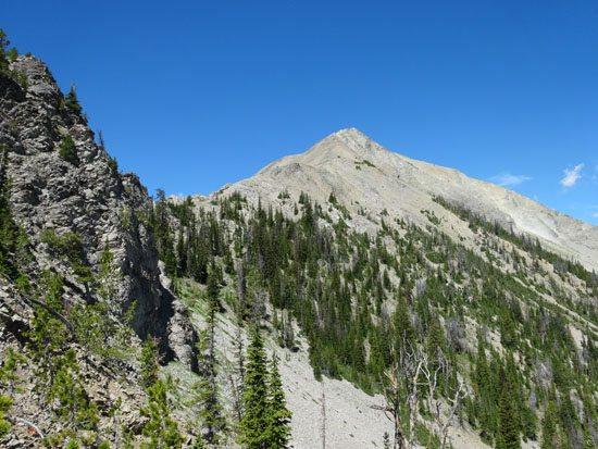 THe Crux Of Hiking Fan Mountain
