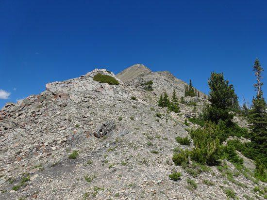 A ridge walk/scramble
