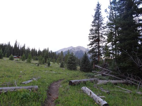 Woodward Mountain From Taylor Creek Trail