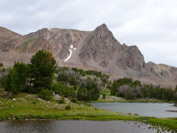 Imp Peak From Alp Lake