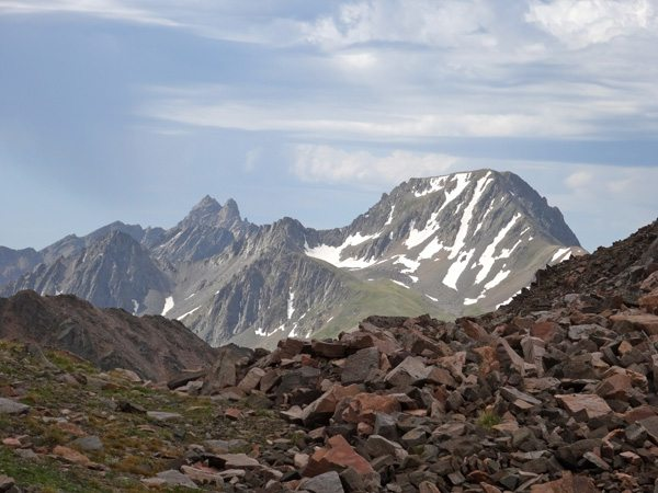 Echo Peak and Hilgard Peak