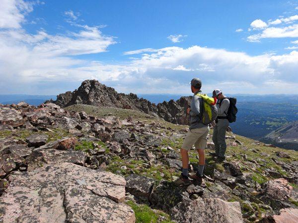 The Broad Summit Ridge of Imp Peak