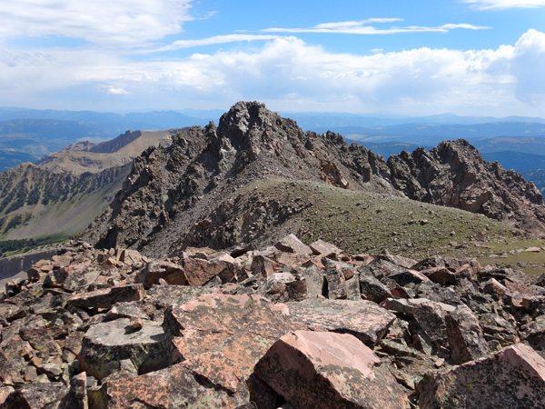 The East Summit of Imp Peak
