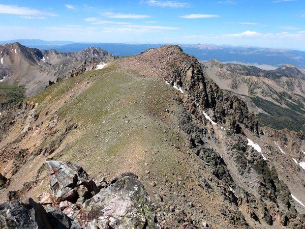 The West Summit of Imp Peak