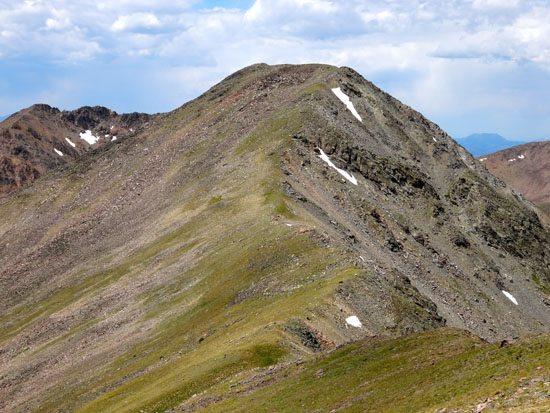 Peak 10930 From Sentinel Peak