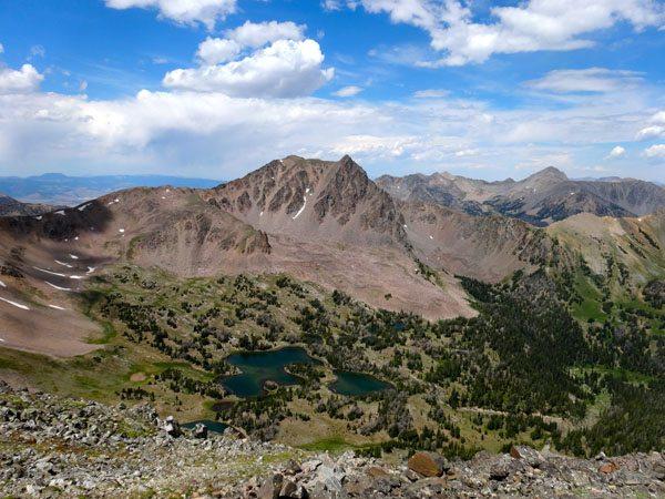 Imp Peak and Alp Lake