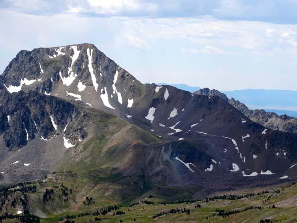 Echo Peak's North Ridge