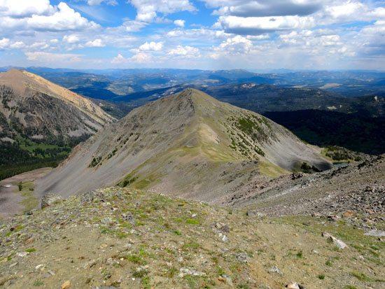 The Ridge To Pyramid Peak