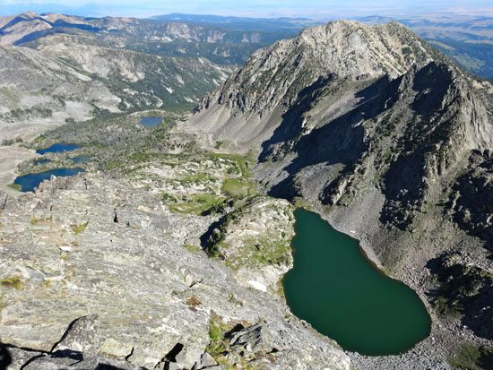 Spanish Lakes and Beehive lake