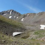 A disappearing high elevation lake
