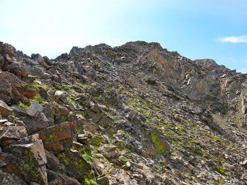 North Ridge of Echo Peak