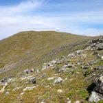 Grassy slopes of Echo Peak