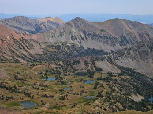Woodward, Peak 10930, Sentinel Peak and Hilgard Basin