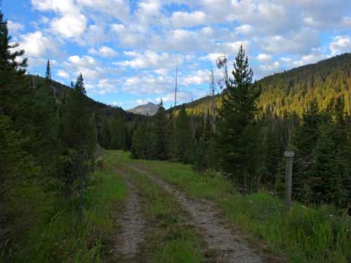 The Trail Begins At Shadow Lake