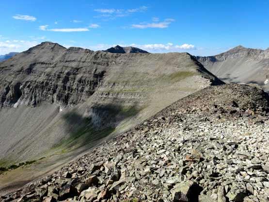 Reaching The Ridge Near Point 10459