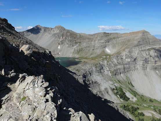 Cedar Lake - Can you see the trail?