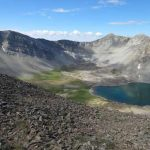 Cedar Lake with both East and West Summits