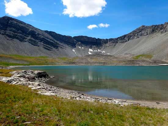 Cedar Mountain Cirque and Lake