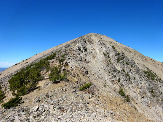 Final Ridge Approach To Finger Mountain