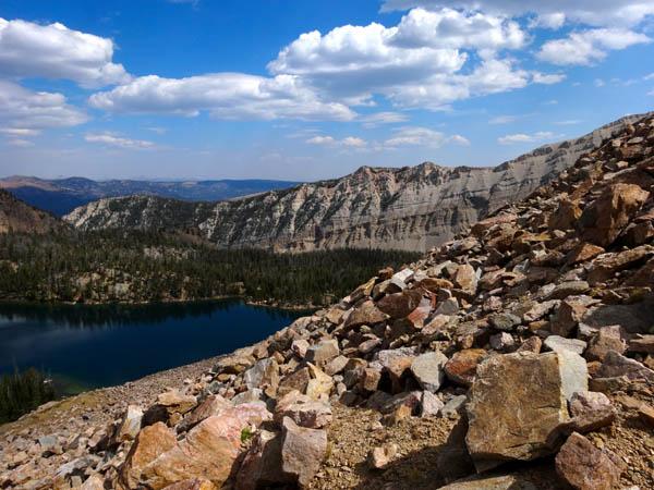 No Man Lake with No Man Ridge In Background