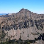 The Southwest face of Imp Peak