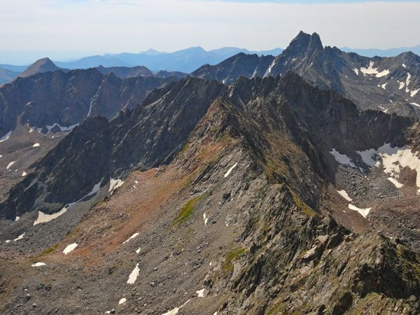 Dutchman Peak as seen from Echo Peak