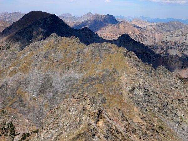 Dutchman Peak as seen from Hilgard Peak