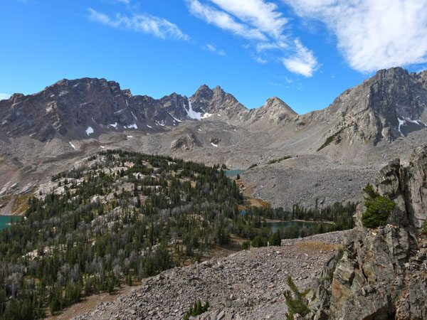 Hilgard Peak and Dutchman Peak