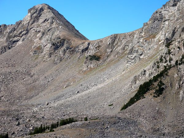 Saddle to Southern Ridge of Dutchman