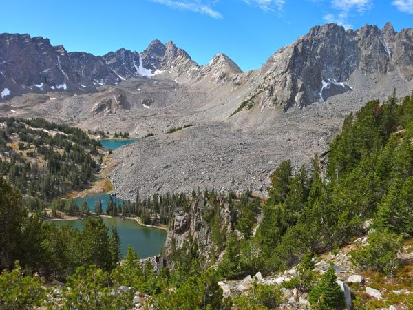 Tallus and Clear Lake in South Hilgard Basin