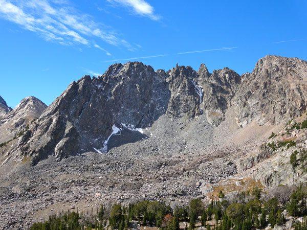 NE Face of Dutchman Peak