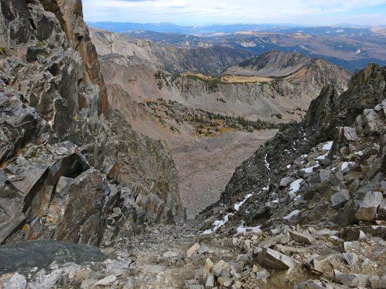 Dutchman Peak's NE Couloir