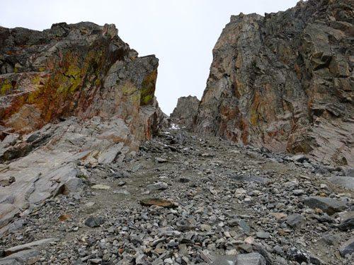NE Couloir of Dutchman Peak