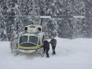 Helicopter Skiing | Stock Photo