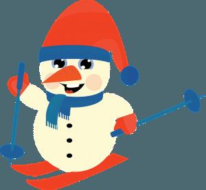 Skiing Snowman | Pixabay