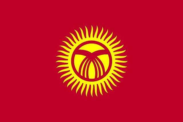 Kyrgyzstan Flag   Pixabay Image