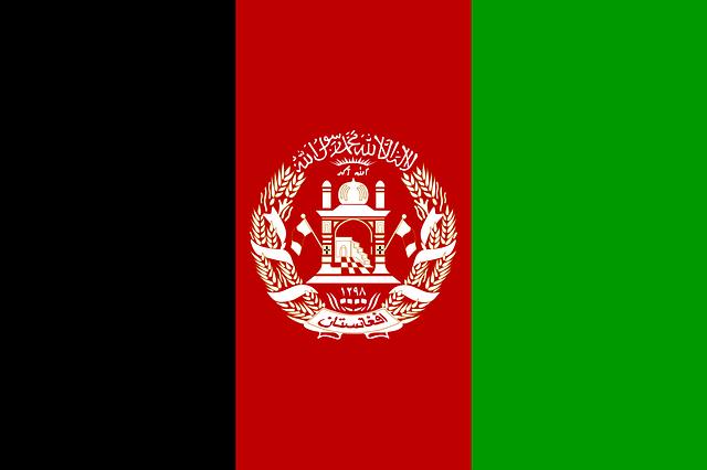 Afghanistan Flag | Pixabay Image