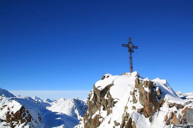 Gaislachkogl Summit Cross   Pixabay Image