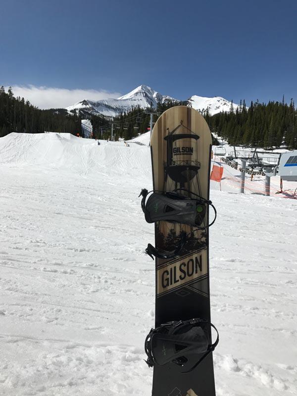 Gilson Snowboard Pioneer