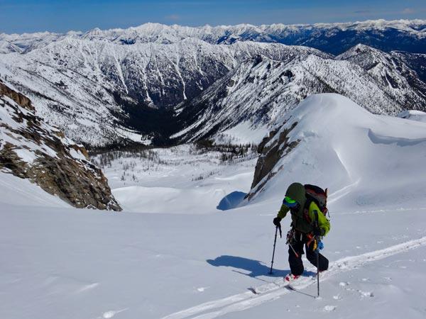 Silver Star Glacier, North Cascades