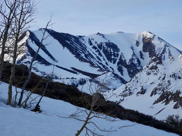Approaching The Bloody Couloir