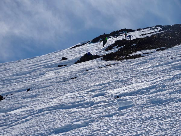 Approaching the Ridgeline