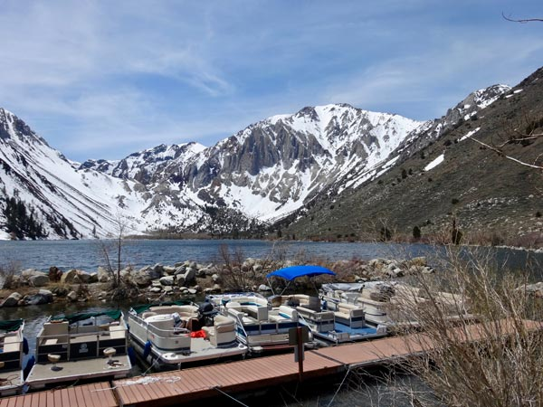 Convict Lake Marina, Eastern Sierra, California